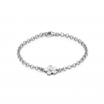 bliss flower Armband silber 9mm