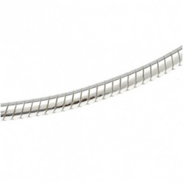 chain, snakes, 1.8mm, 42cm, silver