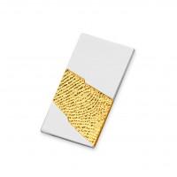 Light Gold Gelb/Weiß