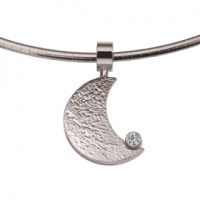 Moon Zirconia Gold Weiß/Weiß