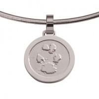 jewel, Schmuck, sieraad, pendant, anhänger, hanger, pawprint pet, pootafdruk huisdier, adore, silver, silber, zilver,