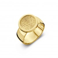 ring, fingerprint, fingerabdrück, vingeradruk, bliss 2, gold, goud, yellow,