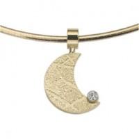 Moon Zirconia Gold Gelb/Gelb