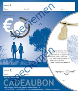 giftbox fingerprint jewel